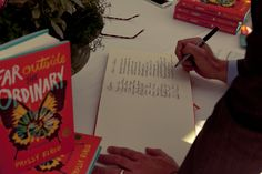 Far Outside the Ordinary by Prissy Elrod   Book Release Party (guest book -- collecting emails)