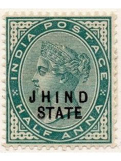 Postage Stamps of India from British to Modern Period Boost Credit Score, Us Postal Service, Stamp Collecting, Postage Stamps, Indie, Coins, India India, Map, Queen Victoria