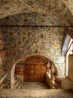 "Inside St Basil's Cathedral. ""AL"""