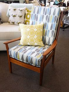 Cintique Chair cover ideas 60's/70's chair