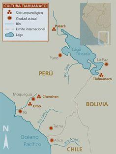 mapa cultura tiahuanaco Bolivia, Lago Titicaca Peru, Empire, Religion, Travel, Maps, Tiwanaku, Inca Empire, Ancient Mysteries