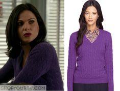 Regina Mills Fashion, Clothes, Style and Wardrobe worn on TV Shows  