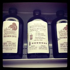 Secret Squirrel Cold Pressed Coffee