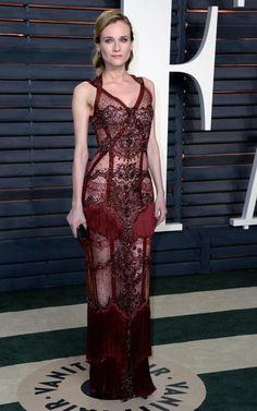 Diane Kruger in Reem Acra at the Oscars