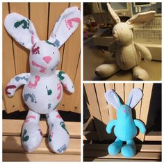 Have your baby's hospital blanket made into a BUNNY by numsies