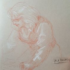 Arega @thegetty security helped me get my fountain pen from lost and found  #sanguinedrawing  #gettyinspired  #redchalk #sanguine #whitechalk #chalkdrawing #sketchbook #sketch #classicaldrawing  #academicdrawing #academicart #portrait #portraitsketch #portraitdrawing #ritratto #рисунок #портрет #набросок #oldmaster #drawings  #drawing #traditionalart #academicart  #academicdrawing  #tonedtan #strathmoreart #portraitcommission #armenian #armenianwoman #femaleportrait  #womanportrait…