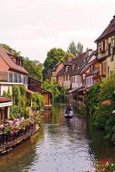 Colmar, uma pequena Veneza em França.