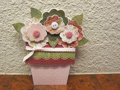 Flower Pot Card - Scrapbook.com
