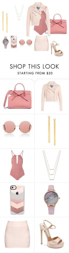 """Untitled #95"" by gabrielegomesdejesus ❤ liked on Polyvore featuring Mansur Gavriel, Emilio Pucci, Christopher Kane, Lana, Melissa Odabash, ERTH, Casetify, Vivani, Boohoo and Salvatore Ferragamo"