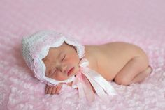White and Pink Coming Home baby hat  available at Magpies Gifts