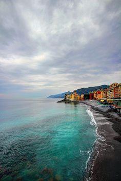 Camogli, Liguria, Italy #Beautiful #Places #Photography