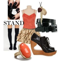 """""""Stand"""" by kestrelicious on Polyvore"""