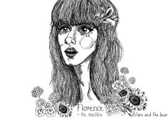 Florence + the machine illustration by CLAREANDTHEBEAR. All rights reserved. #clareandthebear #portrait #fashion #fashionillustration #illustration #art #bohemian #ethereal #whimsical #flowers #florenceandthemachine #florencewelch #longhair #music #musician #vintage #hair #beauty #womenswear #fashiondesign