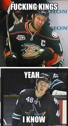 Getzlaf and Hertl have felt the wrath of Jonathan quick