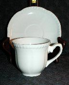 Johnson Brothers Old English White Cup & Saucer