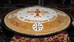 How the monks make kollyva on the Holy Mountain Church Icon, The Holy Mountain, Greek Sweets, Byzantine Icons, Orthodox Christianity, The Monks, Food N, Greek Recipes, Scandinavian Style