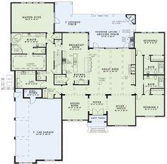 Plan #NDG-1373 Main Floor