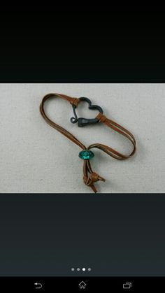 Horseshoe nail bracelet