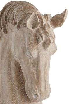 Buy Horse Head Sculpture from the Next UK online shop Woodworking Ideas To Sell, Unique Woodworking, Woodworking Joints, Woodworking Workshop, Woodworking Projects, Woodworking Patterns, Woodworking Videos, Woodworking Furniture, Teds Woodworking