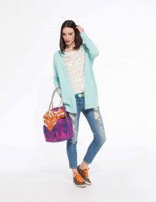Caroline Verhaert - Guardian Long Cardigan model image SS14 #loveisessentiel