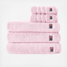 The Cotton Terry 6-Piece Towel Set is the perfect gift for newlyweds. With softness that only increases over time, these towels are a luxurious treat for your body. Includes: 2 Rectangular Wash Cloths 2 Hand Towels 2 Bath Towels