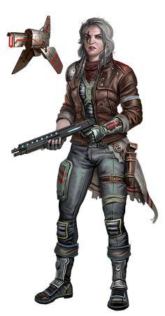 Kopupali Lashunta MechanicOperative  Starfinder RPG