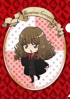 Official anime-style Harry Potter merchandise: Hermione Granger
