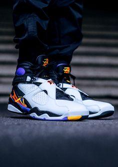 9875f4556aa7 Nike AIR JORDAN RETRO 8 (via Kicks-daily.com) Jordans Sneakers