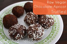 making raw vegan truffles without dates - a perfect Valentine's Day treat!