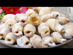 Cine le incearca nu le uita - nici nu vei zice ca sunt de post! | SavurosTV - YouTube Romanian Desserts, Crochet Basket Pattern, Doughnut, Sushi, Biscuits, Good Food, Sweets, Felicia, Cooking