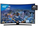 "Smart TV LED Curva 48"" Samsung 4k/Ultra HD Gamer - UN48JU6700 Wi-Fi 4 HDMI 3 USB"