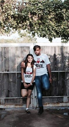 Thanks Ravi & Ravina For sharing such an amazing pic of yours.  Stocks Are Flying Off The Shelves - Get One For You & Your Partner Before Stock End! Also Get Extra Rs.100 OFF* On Prepaid Order, USECODE TODAY100 Shop Here ==>> https://www.teerangers.com/collections/checkkmate/products/checkkmate-angel-devil-couple-t-shirt?aff=2&source=angelDevil Shop Here ==>> https://www.teerangers.com/collections/checkkmate/products/checkkmate-angel-devil-couple-t-shirt?aff=2&source=angelDevil #StupidPrices