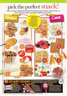 more healthy snack options