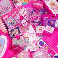 Image about cute in barbie by ゆ ♡ on We Heart It Disney Princess Room, Barbie Princess, Girl Barbie, Pink Love, Pretty In Pink, Bratz Doll, Photo Wall Collage, Everything Pink, Pink Walls