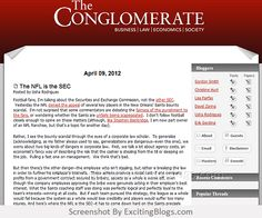 The Conglomerate Blog: Business, Law, Economics & Society - Click to visit blog:  http://1.33x.us/t3qNhO