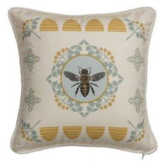 45 Colorful Pillows That Make Your Place Look Cool Pillows Source by petpenufva Buzzy Bee, I Love Bees, Bee Art, Bee Design, Ticking Stripe, Save The Bees, Bee Happy, Bees Knees, Colorful Pillows