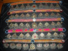 tribal kuchi belts~