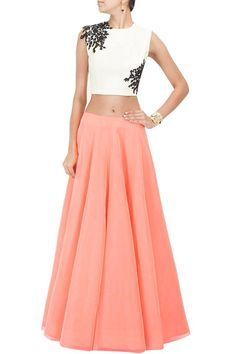 Simple lehenga for day functions ! #indianweddings
