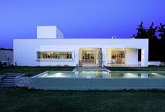 Dar Karim _ maison contemporaine aux Berges du Lac à Tunis _ Architecture et Décoration contemporaine en Tunisie Villa contemporaine de l'ar...