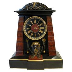 Egyptian Revival Movement clock: