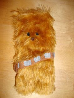 Chewbacca Phone case - Furry wookie phone, ipod, gadget cover case - Star wars Fans. £15.00, via Etsy.