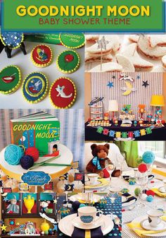 Goodnight Moon! Hello Baby! | 8 Adorable Baby Shower Themes Inspired By Children's Books