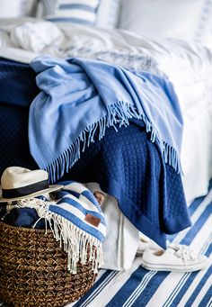 Summer Bedroom Decor Ideas - Living With Lexington - Bright.Bazaar