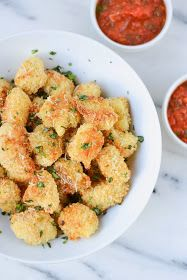 Apples and Sparkle: Crispy Italian Cauliflower Poppers with Marinara