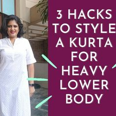 The three pointers are  1. Fit of the kurta - pick the one that fits your lower body and get rest of the kurta altered   2. Length of the kurta - wear keen length and below with fitted pants. If you want to wear shorter kurta, pair it will loose pants.   3. Styling the look - stylise the upper part, so wear brights lipstick, heavy or quirky jewellery. #OutfitInspo #Youtuber #StylingTip #StylingIdea #ImageCoach #ImageConsulting #OutfitIdeas #StylingIdeas #ImageConsultant #WardrobeStylist Image Coach, Bright Lipstick, Indian Kurta, Loose Pants, Workout Pants, Indian Wear, Body Shapes, Pointers, Rest