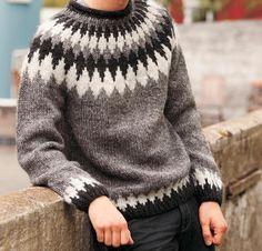 Lopi Tiglar Knit Icelandic Pullover Knitting Kit