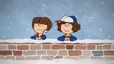 CHARLIE BROWN Specials Get Dark in a STRANGER THINGS CHRISTMAS