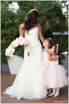 Pastel wedding  #flower girl ... Wedding ideas for brides, grooms, parents  planners ... https://itunes.apple.com/us/app/the-gold-wedding-planner/id498112599?ls=1=8 … plus how to organise an entire wedding, without overspending ♥ The Gold Wedding Planner iPhone App ♥