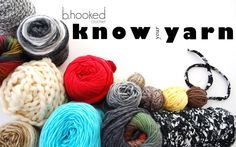 Newest Free Learning Segment on B.hooked Crochet: Know Your Yarn. This first lesson is all about Labels!