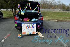 The simple and cheap way to decorate for a Bunny Hop.  www.giggleboxblog.com